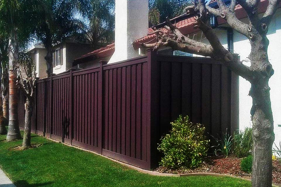 SLS Landscaping Fence Project