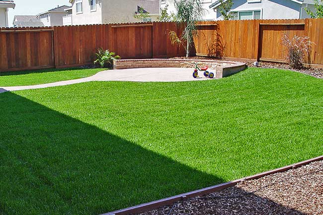 sls landscaping lawn example